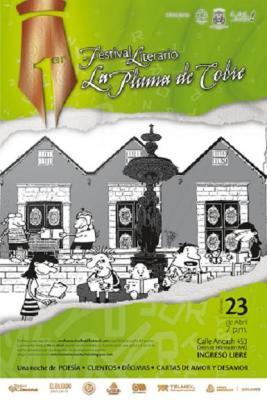 I FESTIVAL LITERARIO LA PLUMA DE  COBRE