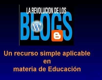 BLOG Y EDUCACION
