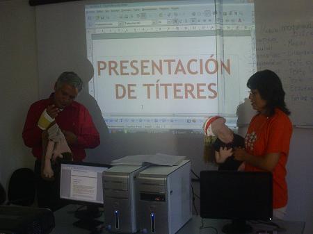 EL TRABAJO CON TITERES