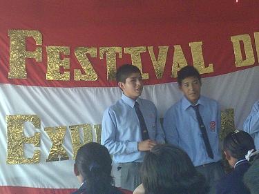 FESTIVAL DE EXPRESION ORAL 2011