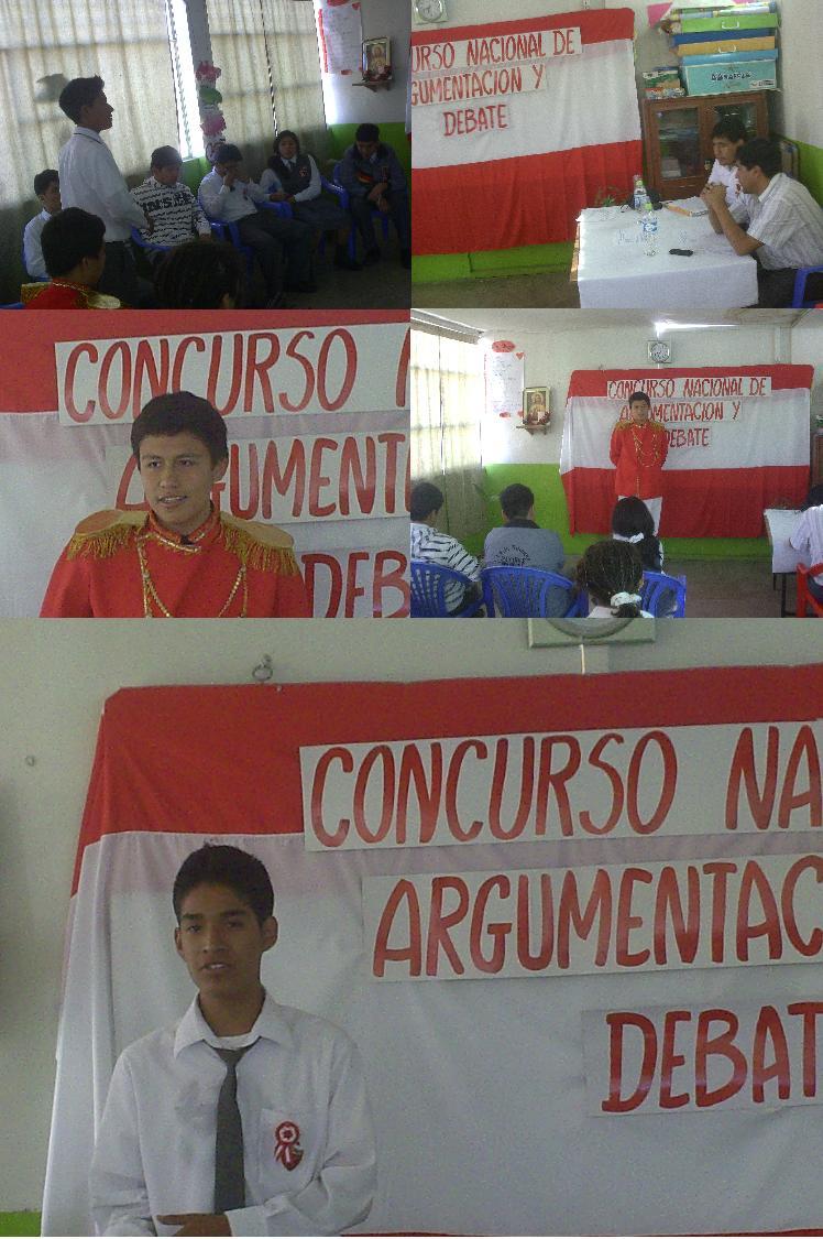 CONCURSO DE ARGUMENTACION Y DEBATE III